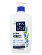 Kiss My Face - Olive & Aloe Deep Moisturizing Body Lotion Fragrance Free - 16 oz.