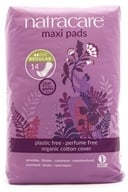 Natracare - Organic Cotton Natural Feminine Maxi Pads Regular - 14 Pad(s) by Natracare