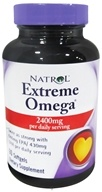 Image of Natrol - Extreme Omega Fish Oil Lemon Flavor - 60 Softgels CLEARANCED PRICED