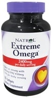 Natrol - Extreme Omega Fish Oil Lemon Flavor - 60 Softgels CLEARANCED PRICED - $5.95