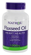 Natrol - Omega-3 Flax Seed Oil 1000 mg. - 90 Softgels (047469009694)