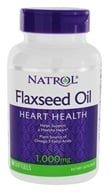 Natrol - Omega-3 Flax Seed Oil 1000 mg. - 90 Softgels - $6.54