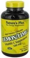 Nature's Plus - Vitamin C Chewable Lemon/Lime 500 mg. - 90 Chewable Tablets by Nature's Plus