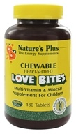 Nature's Plus - Love Bites Children's Chewable - 180 Chewable Tablets (097467029965)