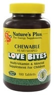 Nature's Plus - Love Bites Children's Chewable - 180 Chewable Tablets by Nature's Plus