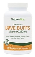 Nature's Plus - Love Buffs Chewable Buffered Vitamin C Natural Orange 250 mg. - 90 Tablets