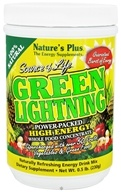 Nature's Plus - Source of Life Green Lightning - 0.5 lbs., from category: Nutritional Supplements