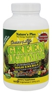 Image of Nature's Plus - Source of Life Green Lightning High Energy Whole Food Concentrate - 180 Vegetarian Capsules