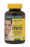 Image of Nature's Plus - Source of Life Men Iron-Free - 120 Tablets