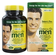 Image of Nature's Plus - Source Of Life Men's Multi-Vitamin - 60 Tablets