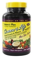 Nature's Plus - Source Of Life Mini Tabs No Iron - 180 Tablets - $24.82