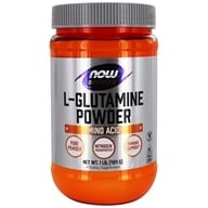 NOW Foods - L-Glutamine Powder - 1 lb. (733739002211)