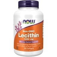 NOW Foods - Lecithin 19 Grain 1200 mg. - 100 Softgels