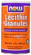 NOW Foods - Lecithin Granules - 1 lb., from category: Nutritional Supplements