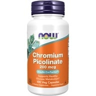 Image of NOW Foods - Chromium Picolinate 200 mcg. - 100 Capsules