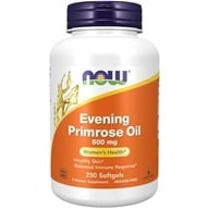 Image of NOW Foods - Evening Primrose Oil 500 mg. - 250 Softgels