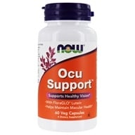 Image of NOW Foods - Ocu Support - 60 Capsules (formerly Eye Support)