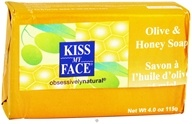 Image of Kiss My Face - Bar Soap Olive & Honey - 4 oz.