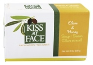Kiss My Face - Bar Soap Olive & Honey - 8 oz. LUCKY DEAL (028367828242)