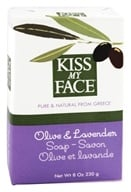 Kiss My Face - Bar Soap Olive & Lavender - 8 oz. (028367833505)