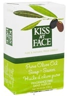 Kiss My Face - Pure Olive Oil Bar Soap Fragrance Free - 8 oz. by Kiss My Face