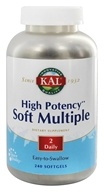 Kal - High Potency Soft Multiple - 240 Softgels, from category: Vitamins & Minerals
