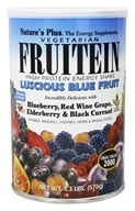 Nature's Plus - Fruitein Fruit Shake Vegetarian Luscious Blue Fruit - 1.3 lbs. (097467458994)