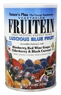 Image of Nature's Plus - Fruitein Fruit Shake Vegetarian Luscious Blue Fruit - 1.3 lbs.
