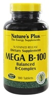 Nature's Plus - Mega B-100 Sustained Release - 180 Tablets, from category: Vitamins & Minerals