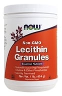NOW Foods - Lecithin Granules Non-GMO - 1 lb. - $10.57