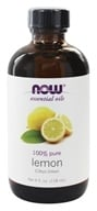 NOW Foods - Lemon Oil - 4 oz.