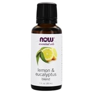 NOW Foods - Lemon-Eucalyptus Oil - 1 oz.