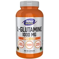 NOW Foods - L-Glutamine 1000 mg. - 240 Capsules (733739000910)