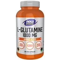 NOW Foods - L-Glutamine 1000 mg. - 240 Capsules - $20.32
