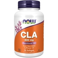Image of NOW Foods - CLA 800 mg. - 90 Softgels
