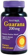 Natrol - Guarana 200 mg. - 90 Capsules