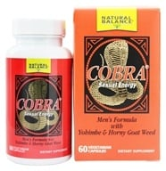 Image of Natural Balance - Cobra Formula For Men - 60 Capsules