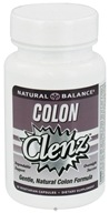 Natural Balance - Colon Clenz - 30 Vegetarian Capsules CLEARANCE PRICED