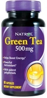 Natrol - Green Tea 500 mg. - 60 Capsules - $10.51