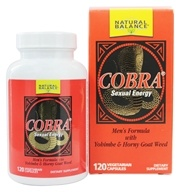 Image of Natural Balance - Cobra - 120 Capsules