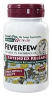 Nature's Plus - Herbal Actives Extended Release Feverfew 500 mg. - 60 Tablets (097467073227)