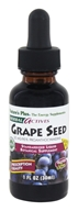 Image of Nature's Plus - Herbal Actives Grape Seed Liquid Suspension 25 mg. - 1 oz.