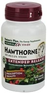 Nature's Plus - Herbal Actives Extended Release Hawthorne 300 mg. - 30 Tablets by Nature's Plus