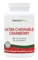 Natures Plus - Ultra Chewable Cranberry - 180 Chewable Tablets