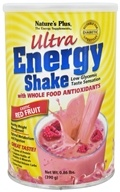 Nature's Plus - Ultra Energy Shake Exotic Red Fruit Flavor - 0.86 lbs. CLEARANCE PRICED