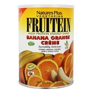 Image of Nature's Plus - Fruitein Shake Banana Orange Cream - 2.8 lbs.