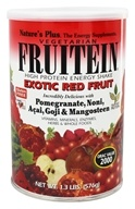 Image of Nature's Plus - Fruitein Shake Exotic Red Fruit - 1.3 lbs.