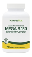 Nature's Plus - Mega B-150 Sustained Release - 90 Tablets - $25.19