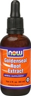 Image of NOW Foods - Goldenseal Root Extract Vegetarian - 2 oz.