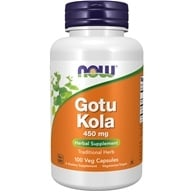 Image of NOW Foods - Gotu Kola 450 mg. - 100 Capsules
